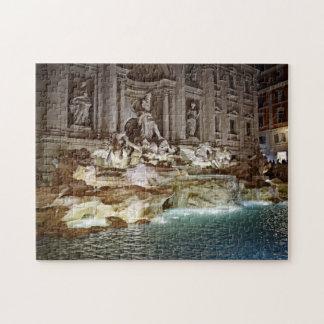 Trevi Fountain - Roma, Italia Puzzle
