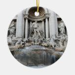Trevi Fountain Rome Christmas Ornament