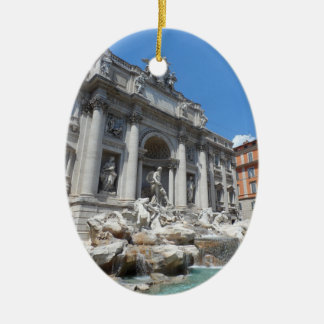 Trevi Fountain- Rome Christmas Ornament
