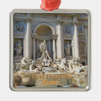 Trevi Fountain Rome Italy Christmas Ornament