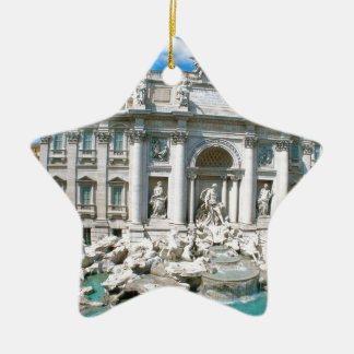 Trevi-Fountain-Rome-Italy-[kan.k].JPG Christmas Ornament