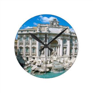 Trevi-Fountain-Rome-Italy-[kan.k].JPG Round Clock
