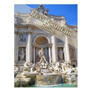 Trevi Fountain Rome Italy Post Card