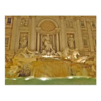 Trevi Fountain - Rome, Italy Postcards