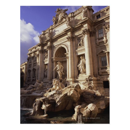 Trevi Fountain, Rome, Italy Postcard