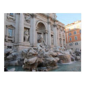 Trevi Fountain Rome Italy Postcards