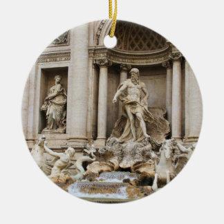 Trevi Fountain Rome Italy Travel Photo Christmas Ornament