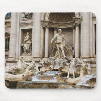 Trevi Fountain Rome Italy Travel Photo Mouse Mat