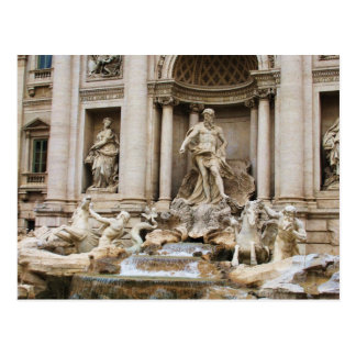 Trevi Fountain Rome Italy Travel Photo Postcard