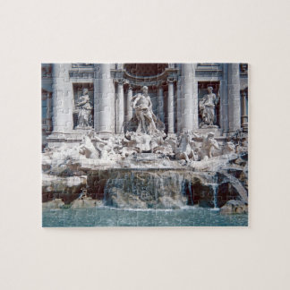 Trevi Fountain Rome Photo Difficult Jigsaw Puzzle