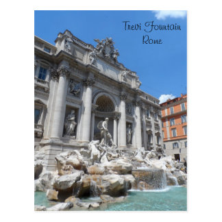 Trevi Fountain- Rome Post Cards
