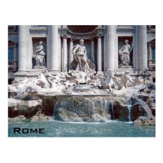 Trevi Fountain Rome Postcard