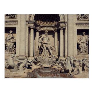 Trevi Fountain Rome Postcards