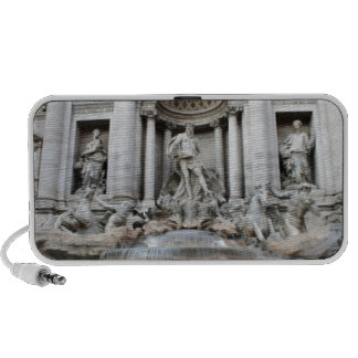 Trevi Fountain Rome Portable Speaker
