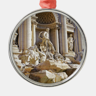 trevi fountain Silver-Colored round decoration