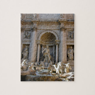 Trevi well in Rome - Italy Jigsaw Puzzle