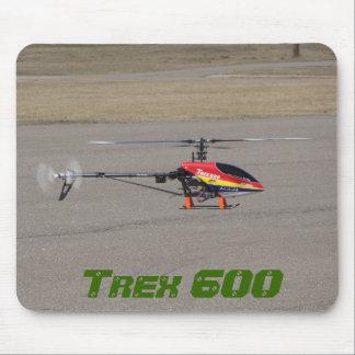 Trex 600 RC Helicopter Hovering Mouse Mat
