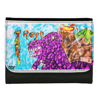 Trex rock wallet for women
