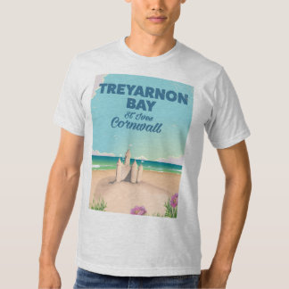 Treyarnon Bay, Cornwall travel poster T Shirts