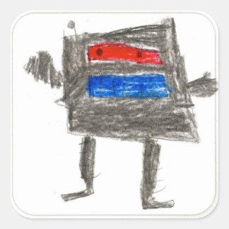 Treytin: Square Sticker