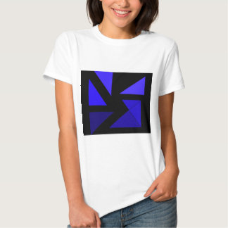 Tri 3 Blue - CricketDiane Abstract PopArt Shirt