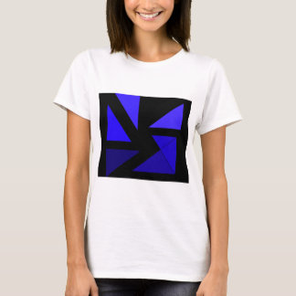 Tri 3 Blue - CricketDiane Abstract PopArt T-Shirt