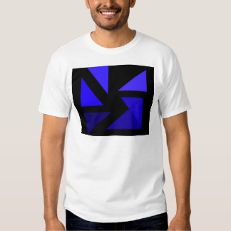 Tri 3 Blue - CricketDiane Abstract PopArt T Shirts