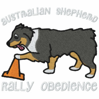 Tri Australian Shepherd Rally Obedience