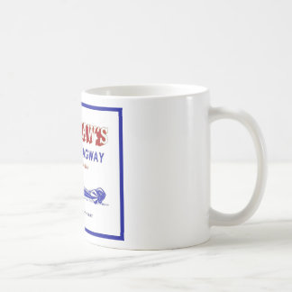 Tri - City  Dragway Basic White Mug