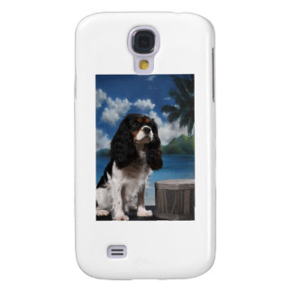 Tri color Cavalier King Charles Spaniel Galaxy S4 Case