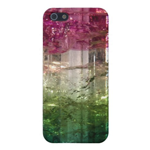 Tri-Color Crystal Abstract Art Speck iPhone 4 Case