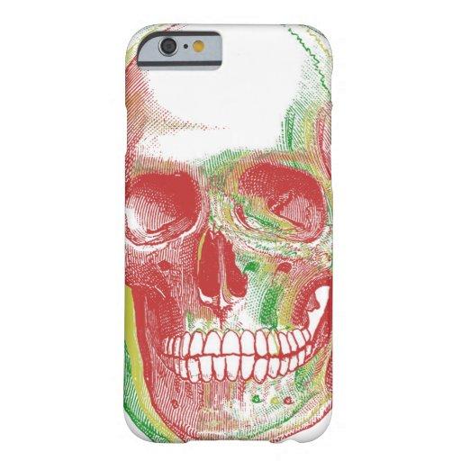 Tri-color Rasta Skull iPhone 6 Case