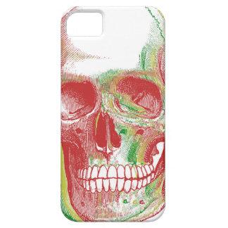 Tri-color Rasta Skull iPhone 5 Cases