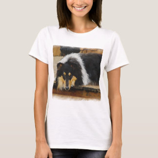 Tri-Color Rough Collie Gifts T-Shirt