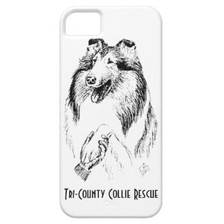 Tri-County Collie Rescue iPhone case