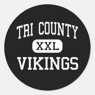 Tri County - Vikings - High - Howard City Michigan Stickers