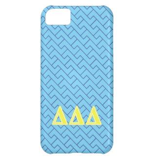 Tri Delta Yellow Letters iPhone 5C Case