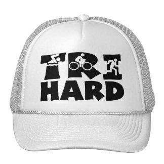 Tri Hard Trucker Hat