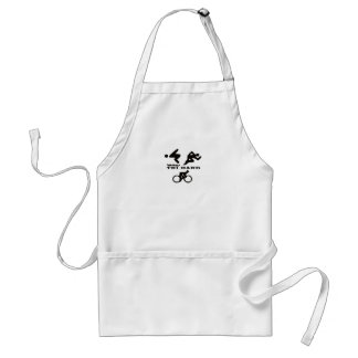 Tri Hard Triathlon Gifts Clothing and Accessories Standard Apron