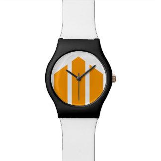 Tri-point Orange Watch