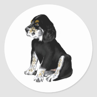 Tri-Setter Puppy Stickers