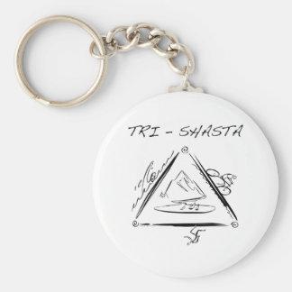 Tri-Shasta-Triathalon Key Chains