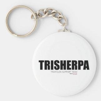 Tri Sherpa Basic Round Button Key Ring