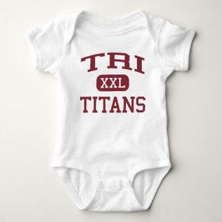 Tri - Titans - Tri High School - Straughn Indiana Shirt