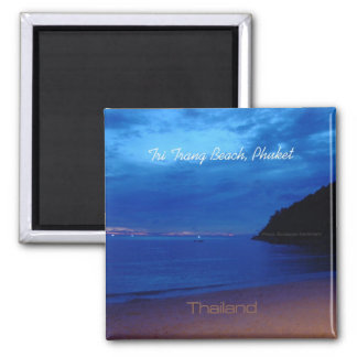 Tri Trang Beach Phuket Thailand Photo Magnets