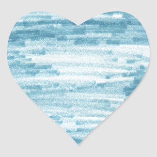 Tri Tri Sky Heart Stickers