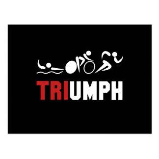 Tri Triumph Postcard