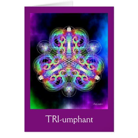 TRI-umphant Card