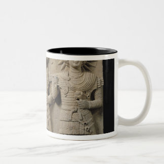 Triad of Palmyrene Gods, from Palmyra Region Two-Tone Coffee Mug