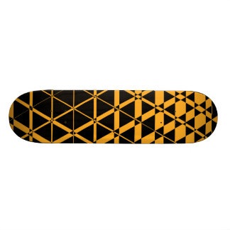 Triagonal Ebony (Amber) Skateboard Deck